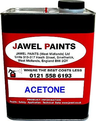 ACETONE CLEANING SOLVENT 2.5lt Size