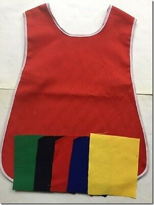 Kids Tabard Apron Plain Elasticated Ages 1 2 3 4 5 Playgroup Crafts Painting