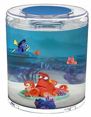 Finding Dory Aquarium + Hank Ornament Sand Background & Stickers 1.4 Gal / 5.3 L