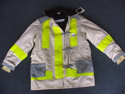 JANESVILLE CHIEF Firefighter Turnout JACKET(variable Size) off white