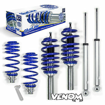 JOM BLUELINE Coilovers Kit Audi A5 (2WD & Quattro) (2007-11) All Engines 741122