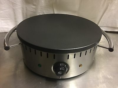 Commercial Crepe machine Pancake maker electric fryer 400mm Round  Hotplate