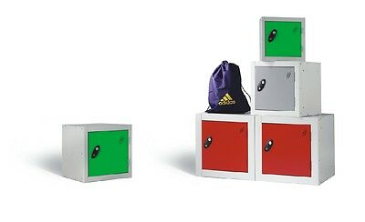 Cube Lockers - (Choice of Colours & 3 sizes)  - Free Delivery