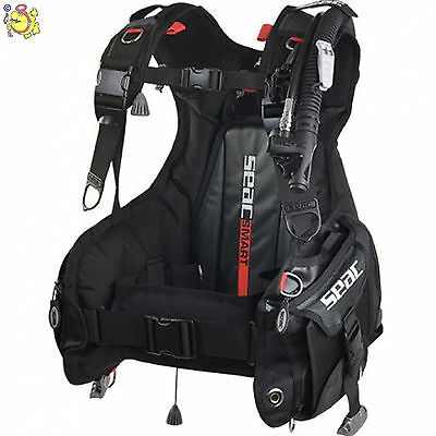 "Uk Seac Sub Bcd """" Smart """" Weight Pocket System Size S"