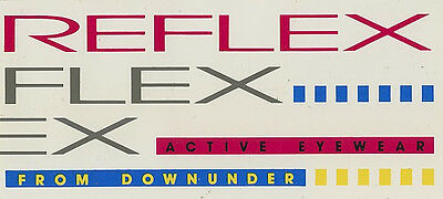 Original Sticker: Reflex Eyewear