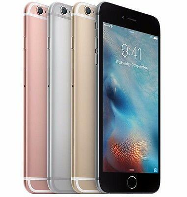 Apple iPhone 6s Plus 16GB 64GB 128GB AT&T 4G Smartphone Gold Silver New other