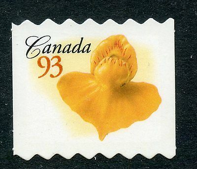 Weeda Canada 2195ii VF NH Die cut 93c Flower single, from Annual Collection