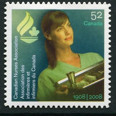 Weeda Canada 2275i VF NH Die cut Nurses single, from Annual Collection