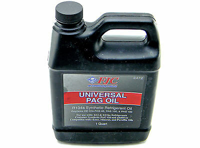 New Fjc Inc. # 2472 Universal Pag Oil R134A Synthetic Refrigerant Oil 1 Quart