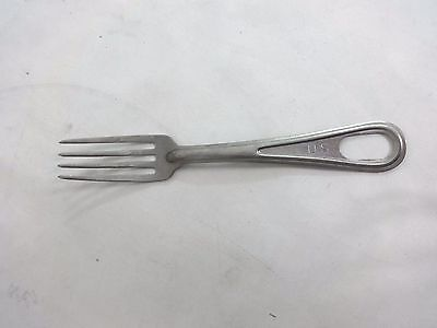 Vintage U.s. Military Silverware Fork For Mess Kit
