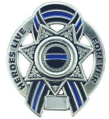 Heroes Live Forever Memorial 7 Point Star Pin