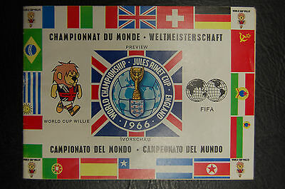 1966 World Cup Tournament Brochure - German Edition