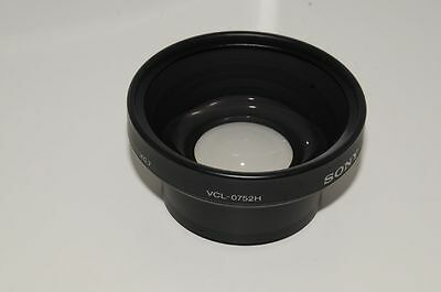 Original Sony Wide angle Wide angle Converter 52 converter VCL-0752H 0,7x 0.7x