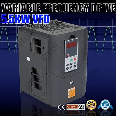 New 220V +/-15% 5.5Kw 7.6Hp 25A Variable Frequency Drive Inverter Vfd Converter