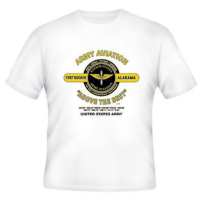 """U.s. Army Aviation * Fort Rucker, Al """"Above The Best"""" Campaign Shirt"""