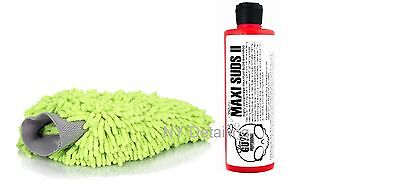 Chemical Guys Maxi Suds II 16oz+ Wash Mitt Combo - NEXT DAY EXPEDITED SHIPPING!
