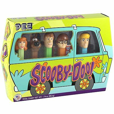 Pez Scooby Doo Gang Set - 5 Dispensers & 6 Rolls Shaggy by PEZ CANDY INC.