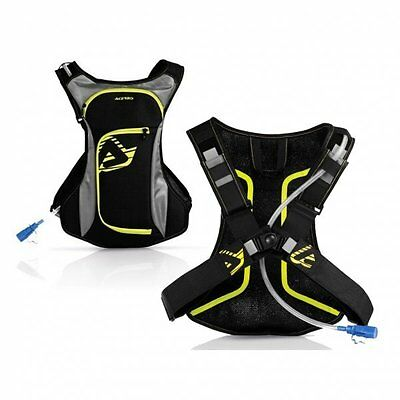 Acerbis Aqua Motocross Enduro MX MTB Hydration Pack With Tool Roll (2L)
