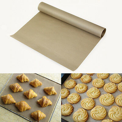 Safe Home Kitchen Greaseproof Oven Bakeware Baking Mat Pad Cooking Paper Hot