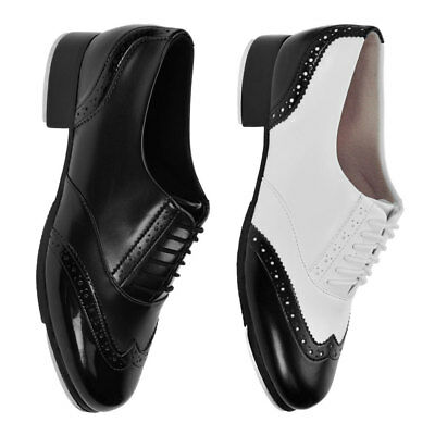 Bloch 341 Charleston Tap Shoes - Black or Black/White