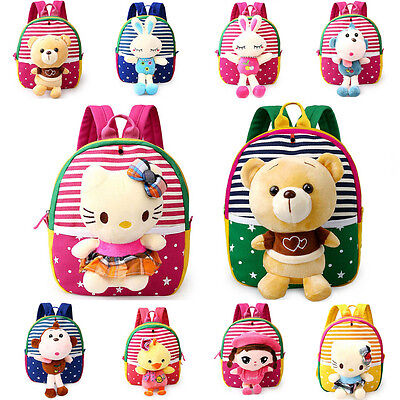 Kids Mini Bag Toddler Boy Girl Baby Child Rucksack Schoolbag Preschool Backpack