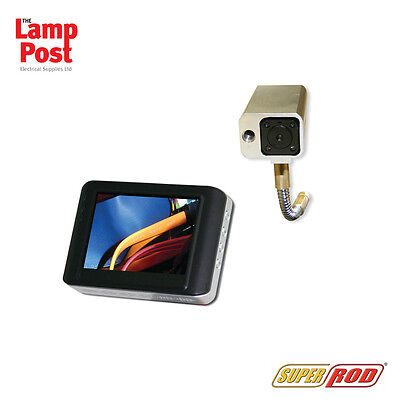 Super Rod SRCAMV6WK Super Cam V6WK Cable Inspection Wireless Camera Kit