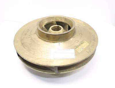 New Ingersoll C06568-02-00-728 21 In Od Centrifugal Brass Pump Impeller D532959