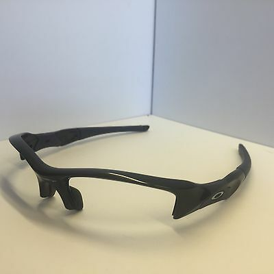 Oakley FLAK Black w/Blue Authentic Sunglasses Frames 63-14-133