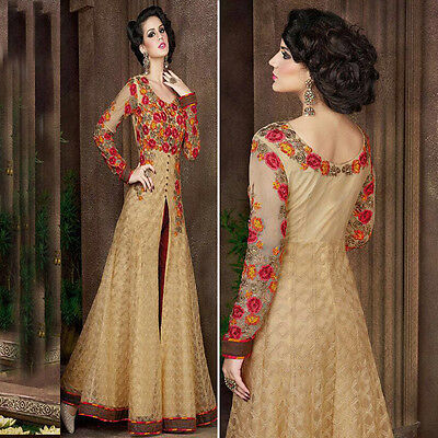 Latest Indian salwar kameez bollywood designer punjabi suit gown wedding dress