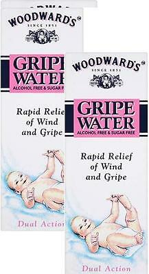 Woodwards Gripe Water 150ml X2 TWIN PACK-Original Dill Seed oil for Baby bubbles