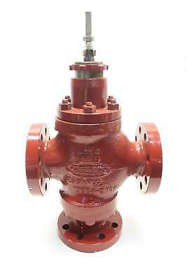 New Masoneilan Dresser Three Way Control 2 In Steel Flanged Valve