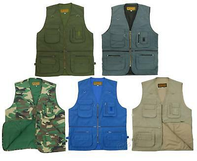 GAME Multi Pocket KEEPER Utility Vest / Waistcoat - Fishing, Hunting, Hiking