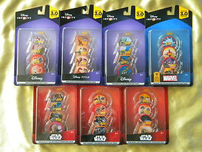 Disney Infinity 3.0 Power Discs Pick Your Disc Complete Your Collection