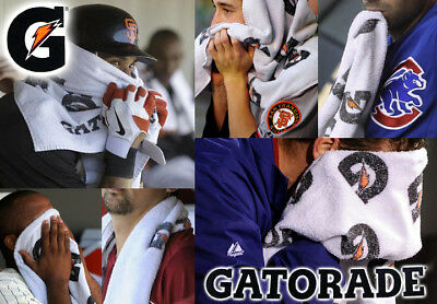 "GATORADE SPORTS TOWEL ""Sideline Towel"" NHL, NFL, NBA Players Use"