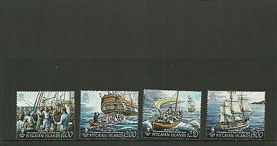 Pitcairn Islands- Sg900-903 225Th Anniv Of Mutiny On The Bounty Set  Mnh