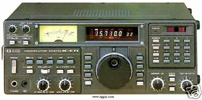 Icom Ic-R71 Hf Radio Receiver Service Repair Manual