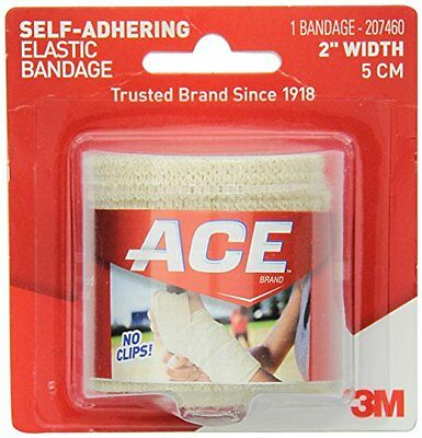 2 Pack - ACE Self-Adhering Bandage 2 Inches 1 Each