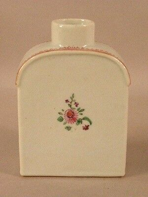 Chinese Export Porcelain Tea Caddy  18/19Th Century
