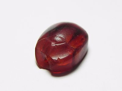 Zurqieh -Cy53- Ancient Egypt , Beautiful Carnelian Scarab. New Kingdom .1400 B.c