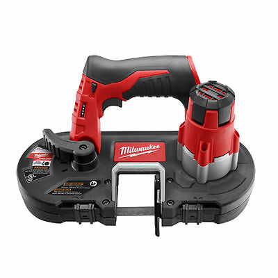 Milwaukee 2429-20 Sub-Compact Cordless Band Saw With Light, 12 V, Lithium-Ion, 0