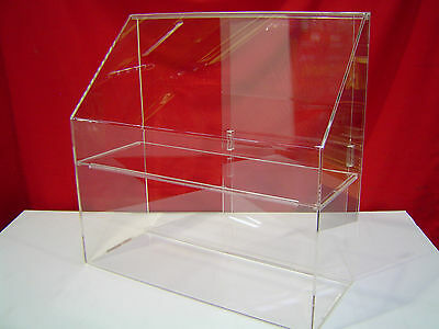Portable Acrylic Pastry Display Case For Muffins, Cupcakes & Donuts. Aussie Made