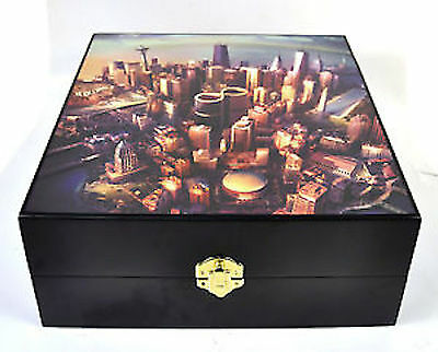 Foo Fighters Sonic Highways Wooden Box Free Shipping
