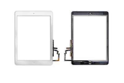 Touchscreen Digitizer Display Glas Scheibe Front für iPad Air weiss