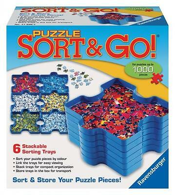 Ravensburger Jigsaw Puzzle Sort & Go - Store Your Puzzle Pieces #17930