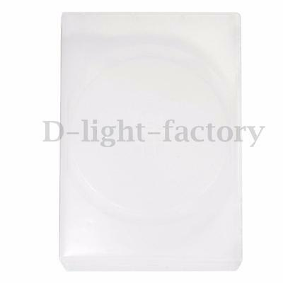 1pc 10 Disc DVD CD Storage Multi Case Holder Cover Sleeve Transparent Clear 14mm