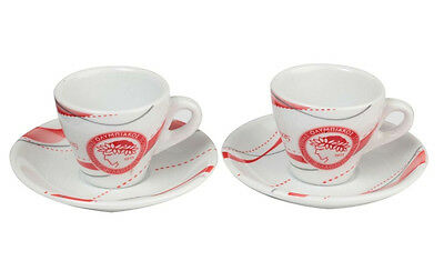 Olympiakos FC Greece Soccer Espresso Set Official in Gift Box New