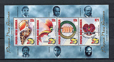 s8550) PAPUA & NEW GUINEA MNH** Nuovi** 2000, 25 Years Independence s/s