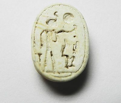 Zurqieh -Cy90-  Ancient Egypt, New Kingdom. Stone Scarab 1400 B.c