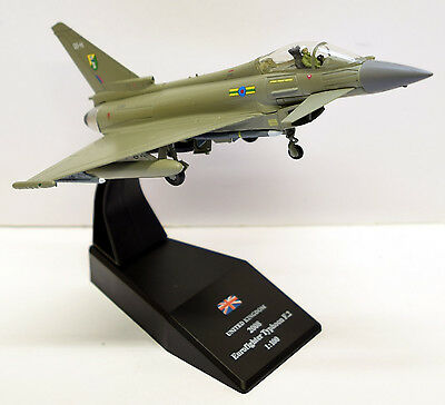 Royal Air Force Eurofighter Typhoon F2, 1:100 Scale Diecast Model