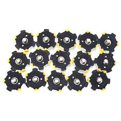 14Pcs Golf Shoe Spikes Sports Replacement Champ Cleat Screw Fast Twist